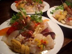 夏の海猫丼